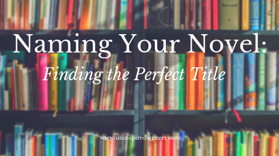 naming your novel